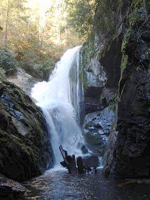 Waterfall on Jocassee