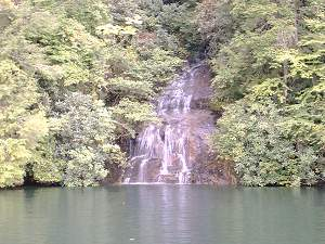Another waterfall on Lake Jocassee