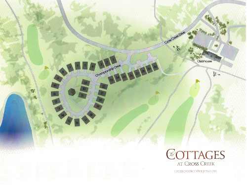 Cross Creek Plantation Cottages Plan