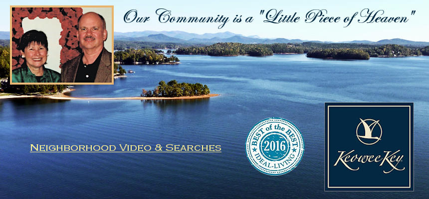Keowee Key homes and land search plus community information