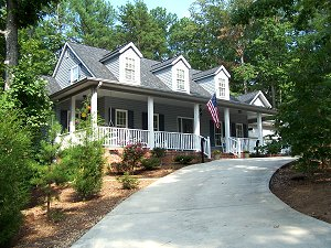 Custom Home in Keowee Key