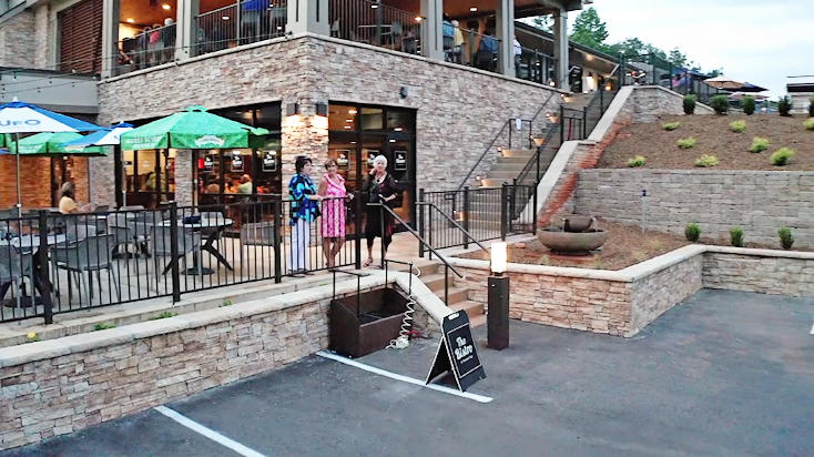 Bistro at Keowee Key golf cart parking